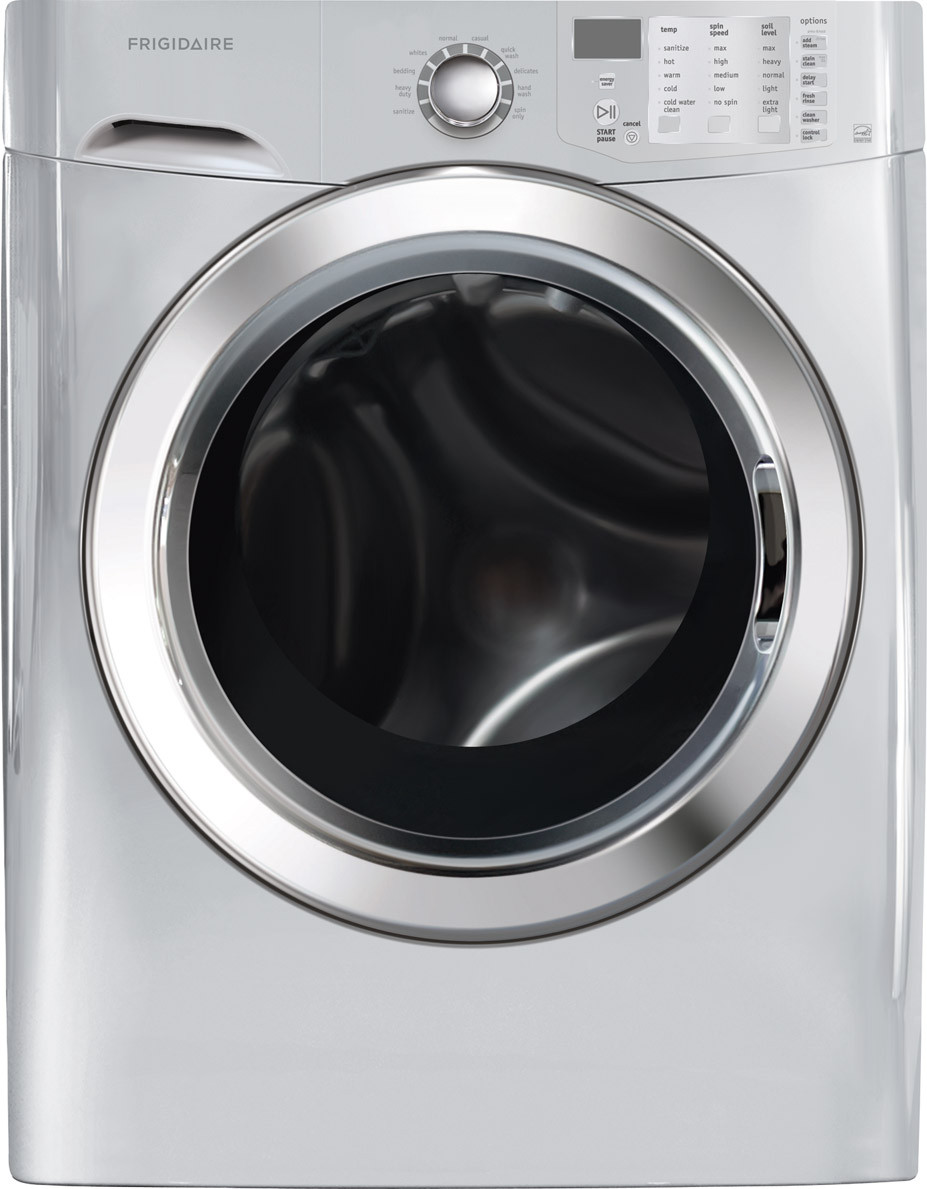frigidaire front load washer owners manual