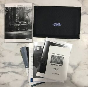 2016 ford explorer owners manual