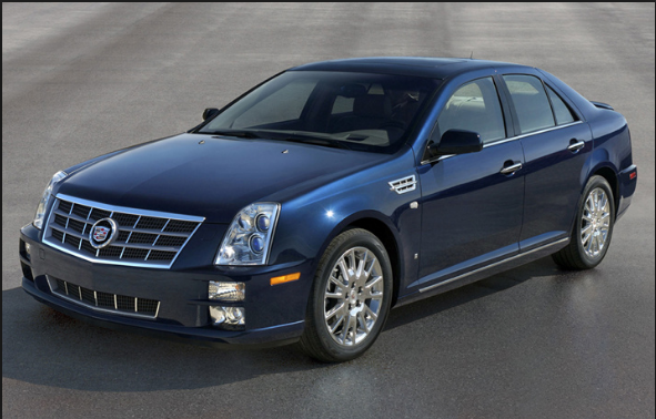 2009 cadillac sts owners manual