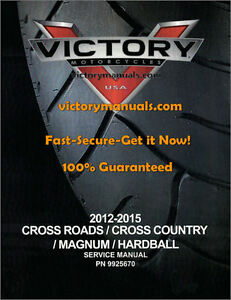 victory cross country service manual