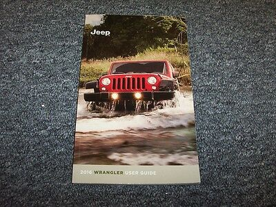 2016 jeep wrangler rubicon owners manual