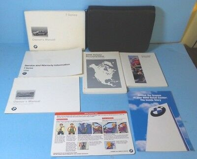 1998 bmw 740i owners manual