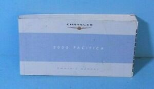 chrysler pacifica owners manual 2005