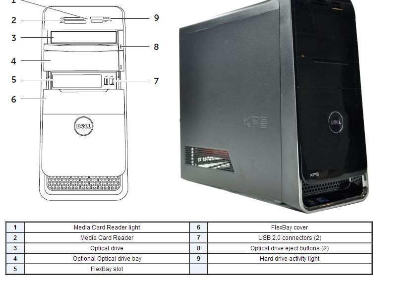 dell xps 8900 owners manual