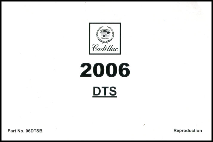 2007 cadillac dts owners manual