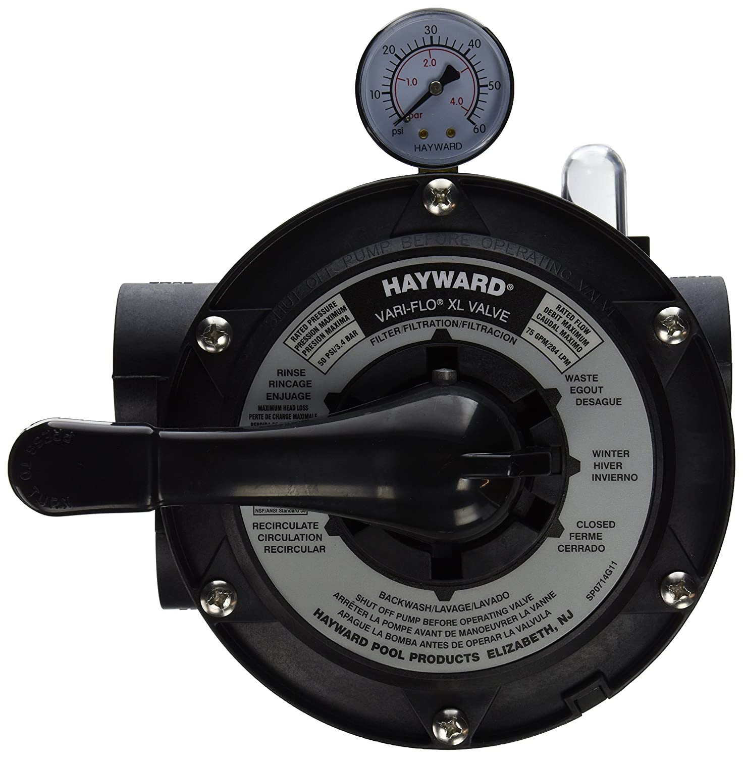 hayward vari flo xl valve owners manual