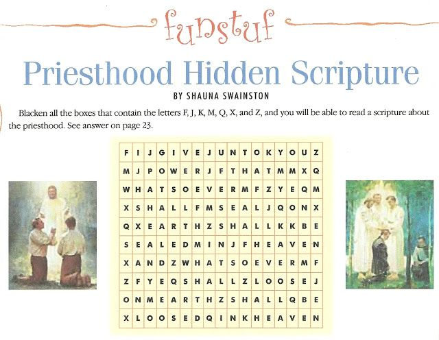 lesson 17 manual 2 lds the priesthood helps me