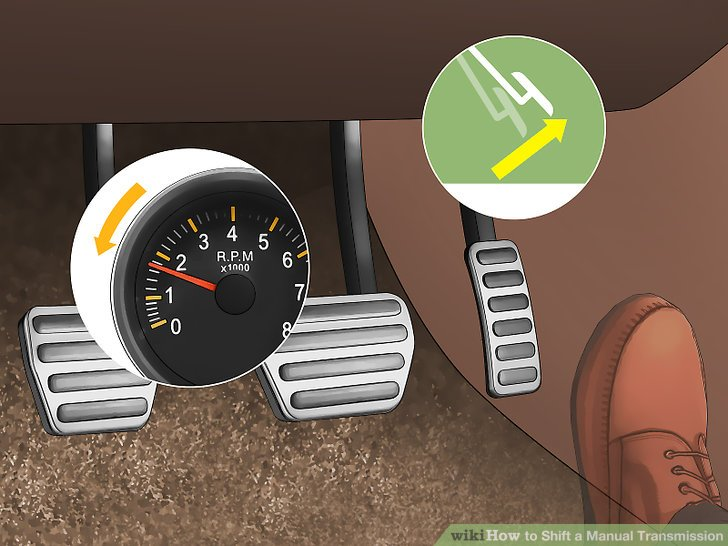 manual transmission how to downshift 2 gears
