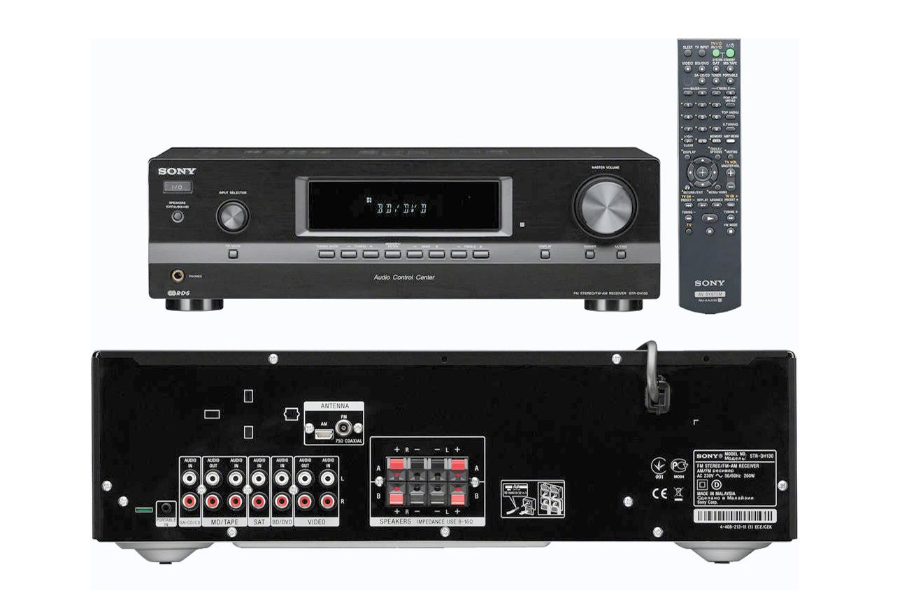 sony strdh130 2 channel stereo receiver manual